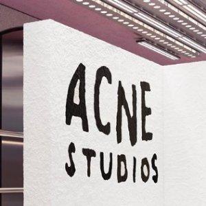 低至5折 T恤€84收Acne Studios 服饰鞋靴打折季热卖 简约风刮起来