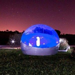 双人1晚,有效期至2021.08.31泡泡房 伊泽尔省(Isère)