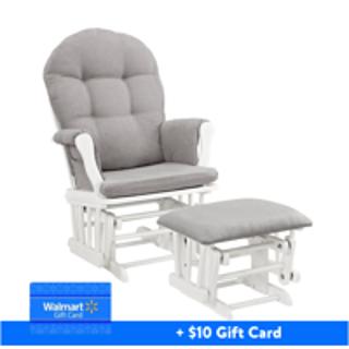 $129.99 加送$10礼卡Storkcraft 或 Angel Line 摇椅+脚凳套装,新手妈妈好帮手