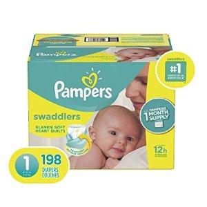立减$3Pampers帮宝适 各系列新生儿NB、儿童纸尿裤特卖