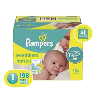Up to $5.66 OffAmazon Diapers Pampers Swaddlers Size 1-6