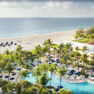 低至2.5折Expedia 东海岸海滩度假村、精选酒店优惠 省钱享受两不误
