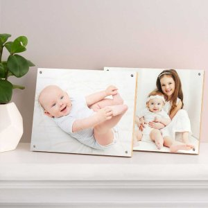 75% OffWood Photo Panels Multiple Sizes @ Walgreens