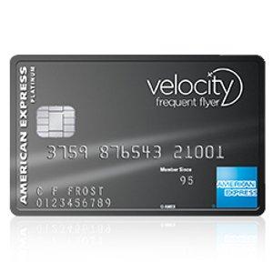 送5万积分 可换国际航线机票American Express Velocity Platinum信用卡 多种积分兑换