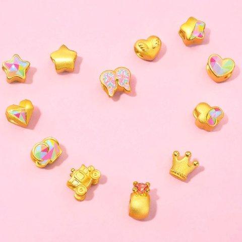 低至7折+单件免邮 送小红绳Chow Sang Sang 七夕特卖 精致串珠促销 $123起收新款mini