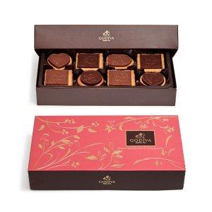 Godiva什锦口味巧克力饼干礼盒20块装 2件套