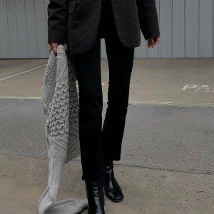 4折起 封面款$194J Brand 人手必备牛仔裤专场 无敌显瘦 倪妮同款喇叭裤$255