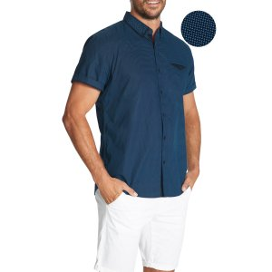 connor短袖衬衫
