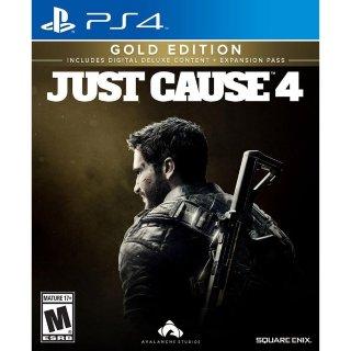 $19.97 (原价$59.99)《正当防卫4 黄金版》PS4 实体游戏