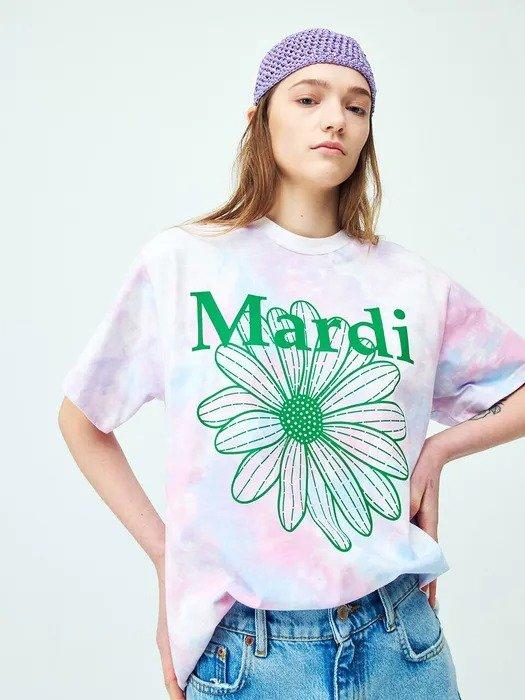 扎染雏菊T恤