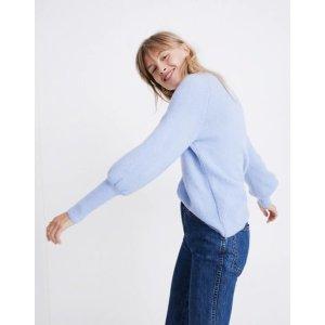 3eb01eb8d7 Madewell Balloon-Sleeve Pullover Sweater. MadewellDashwood V-Neck Sweater  in Coziest Yarn