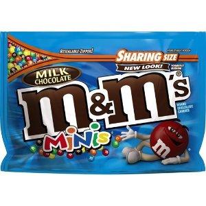 M&M'S 迷你牛奶巧克力糖 9.6oz