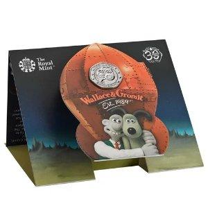 The Royal Mint华莱士和格罗米特 系列50p