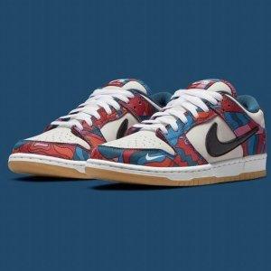 7月29日发售 定价€109.99Parra x Nike Dunk 联名款上架 涂鸦鞋身搭配Mini Swoosh