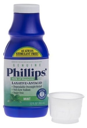 Philips Phillips' Genuine Milk of Magnesia, Fresh Mint, 355ml