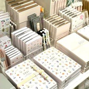 无门槛7.5折kikki-k 2021 手账本、日历专场