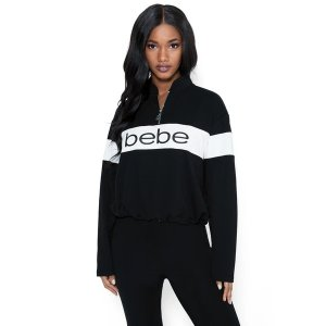 BebeLogo French Terry Sweatshirt