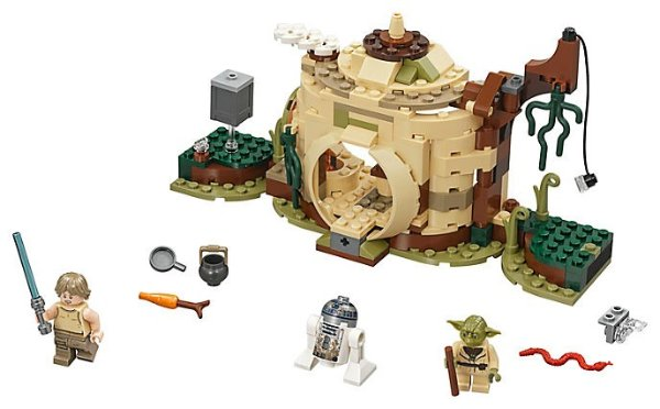 星战 Yoda's Hut - 75208