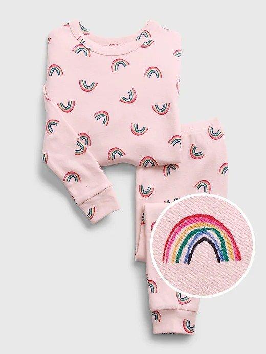 100% 有机棉 婴儿、小童睡衣套装