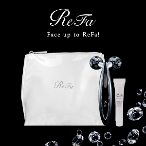 Receive a Limited Giftswith Purchase of May limited ReFa Crystal CARAT Face @ ReFa USA