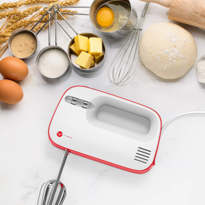 $9.99Amazon Vremi 3-Speed Compact Hand Mixer with Clever Built-In Beater Storage