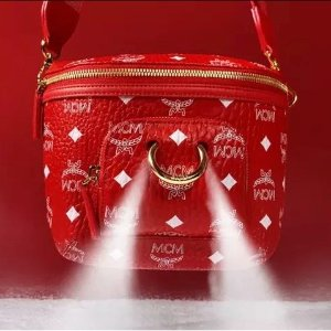 $575 Get Klassik Crossbody in New Year VisetosNew Arrivals: MCM Chinese New Year Collection Bag Accessories