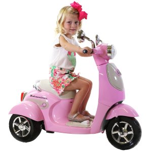 Honda儿童6V电动摩托车,还有蓝色