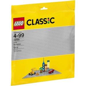 $14.98(原价$17.86)LEGO 乐高10701 灰色底版 发挥无限创意 做自己的乐高大师