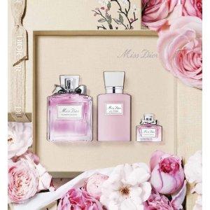 DiorMiss Dior Blooming Bouquet Fragrance set - eau de toilette, body milk and fragrance miniature
