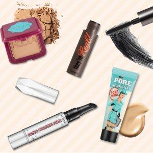 满$70送4件套礼包Benefit Cosmetics官网 全场美妆热卖