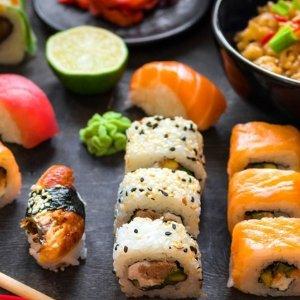 低至5折+额外7.5折巴黎Restaurant Koï 日料双人套餐就餐券限时热卖