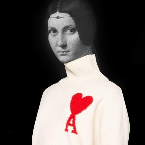 全线7.8折 polo衫$157Ami Paris 法式爱心美衣专场 收条纹毛衣、卫衣$279