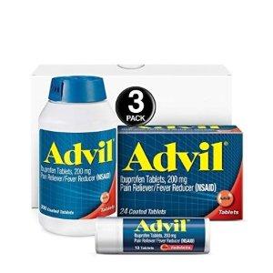 $20.99 包邮Advil 止痛、退烧、感冒药 200mg 共330粒