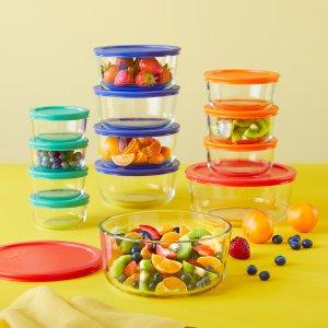 Pyrex 24件玻璃食物保鲜盒套装