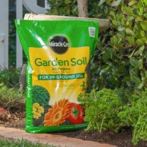 Miracle-Gro 植物盆栽种植花园土,0.75 cu. ft.