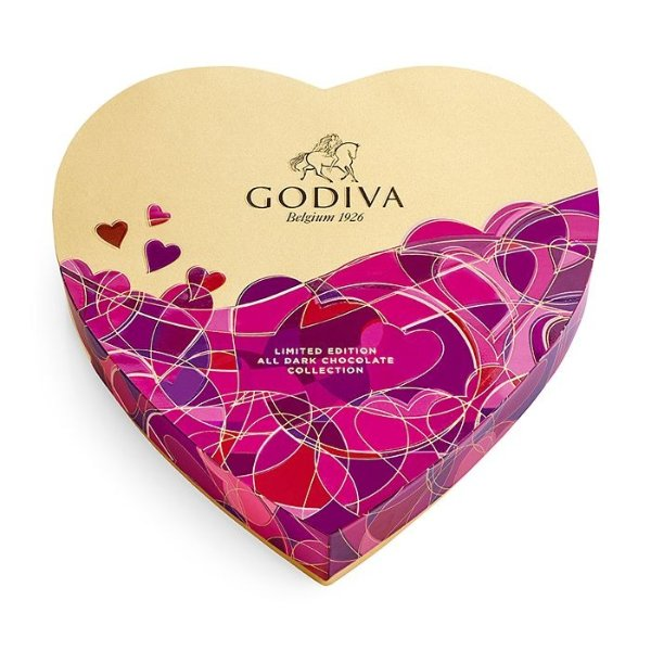 情人节心形巧克力14颗装礼盒