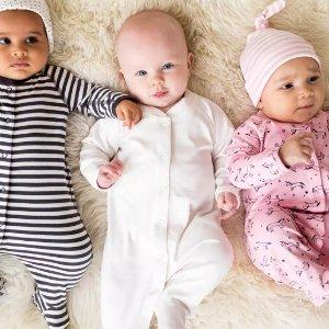 一律$19.99Hanna Andersson 有机棉睡衣促销 婴儿、儿童、成人款都有