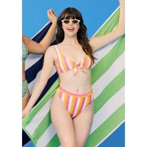 The Naomi High-Waisted Bikini Bottom