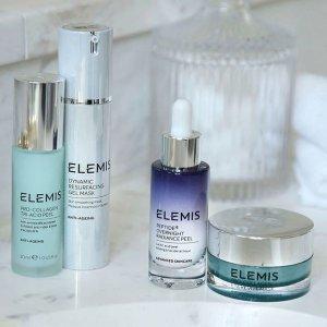 任意单送正装好礼ELEMIS 全场护肤热卖 收骨胶原海洋面霜