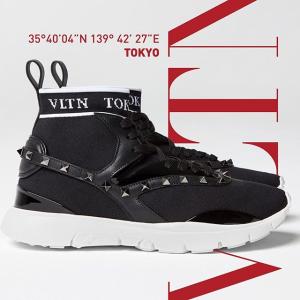 低至4折+额外8折 入超酷SneakerValentino 性感潮流铆钉美鞋专场