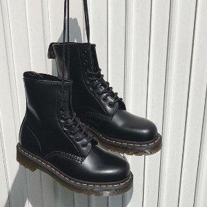最高满减£50 £90收经典款8孔1460Dr. Martens 精选鞋靴大促 百搭帅气的长腿神器