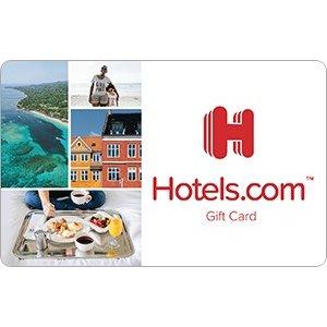 Hotels.com 礼品卡