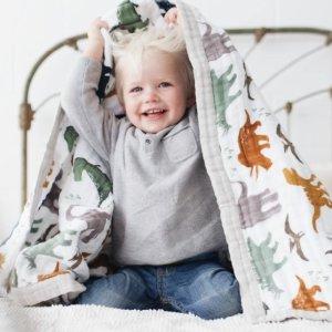 8折 力薦各種Size紗布巾/被Little Unicorn 超美寶寶紗布巾、圍嘴、睡袋等特賣