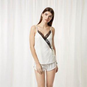 Angelica Cami and Short Set Cream