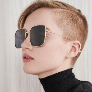 低至2.5折 $89收Chloe Aviator墨镜Chloe、Tom Ford、Gucci、Prada等大牌太阳镜热卖