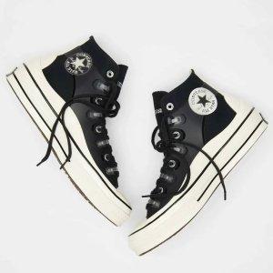 ConverseDior艺术总监Kim Jones联名款Chuck 70 黑色帆布鞋
