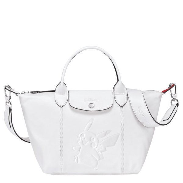 S 白色饺子包