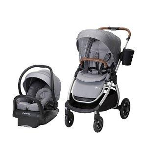 $509.99(原价$599.99)史低价:Maxi-Cosi Adorra 2.0 5-合-1 童车+安全座椅