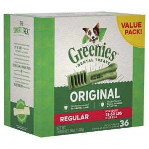 GreeniesRegular 狗狗洁牙棒 36支