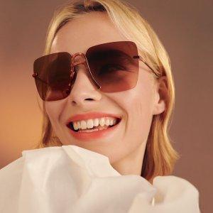 5折起 €56收雷朋墨镜Sunglass Hut 大牌墨镜好价 收Rayban、Prada、Dior经典款等
